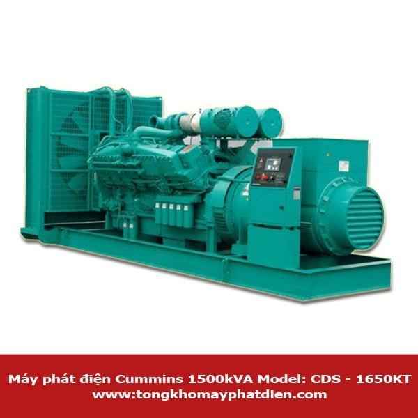 Máy phát điện Cummins 1500kVA model CDS-1650KT