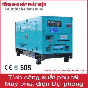 Tính công suất phụ tải máy phát điện dự phòng
