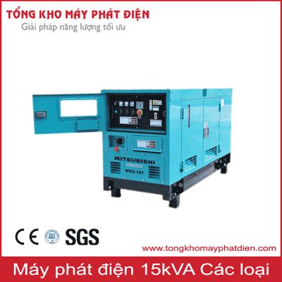 Máy phát điện 15kVA các loại