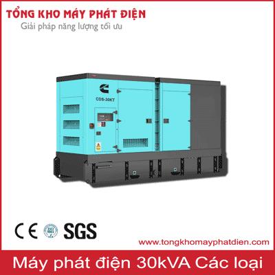 Máy phát điện 30kVA các hãng