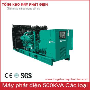 Máy phát điện 500kVA các hãng