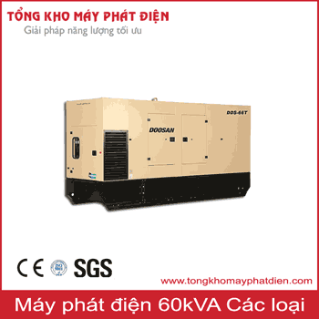 Máy phát điện 60kVA các hãng