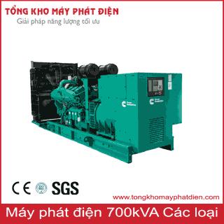 Máy phát điện công suất 700kVA 3 pha