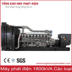 Máy phát điện 1800kVA các hãng