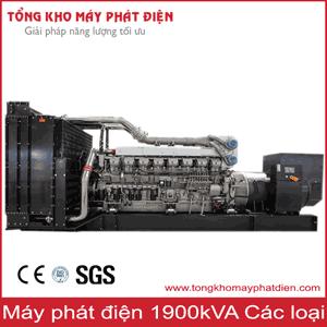 Máy phát điện 1900kVA các hãng nổi tiếng