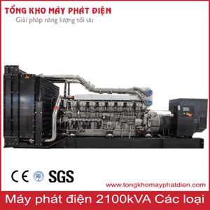 Máy phát điện 2100kVA các hãng