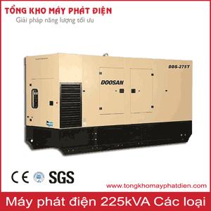 Máy phát điện công suất 225kVA