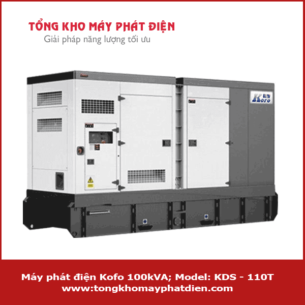 Máy phát điện Kofo 100kVA KDS - 110T