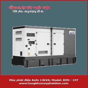 Máy phát điện Kofo 13kVA 3 pha chạy dầu Diesel
