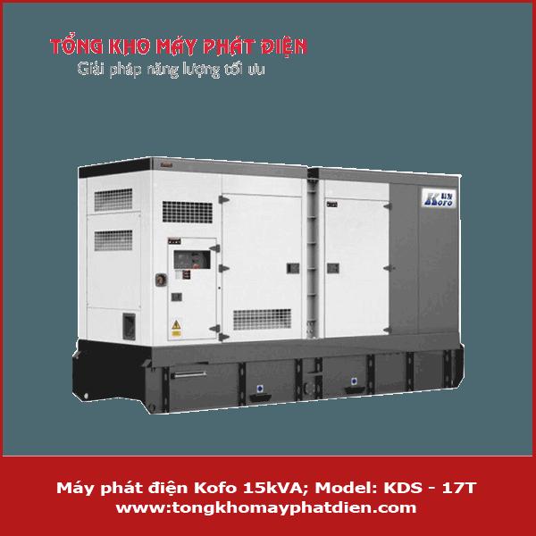 Máy phát điện Kofo 15kVA KDS-17T