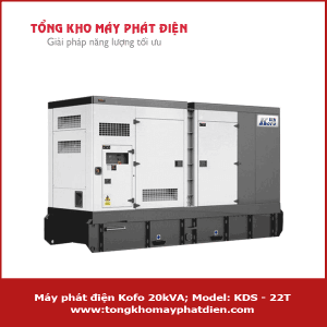 Máy phát điện Kofo 20kVA KDS-22T
