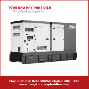 Máy phát điện Kofo 30kVA KDS-33T