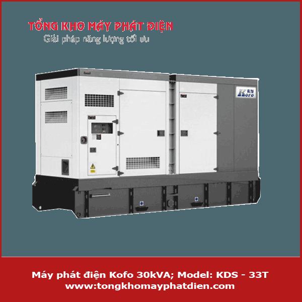Máy phát điện Kofo 30kVA