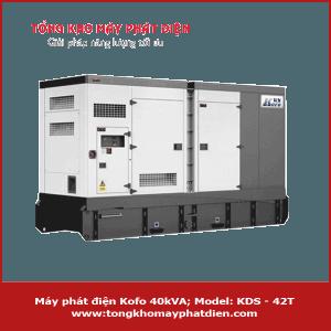 Máy phát điện Kofo 40kVA KDS-42T