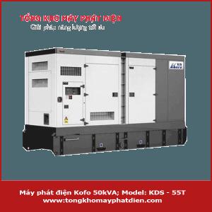 Máy phát điện Kofo 50kVA KDS-55T