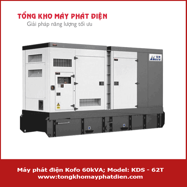 Máy phát điện Kofo 60kVA