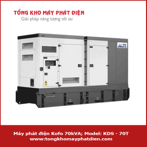 Máy phát điện Kofo 70kVA KDS - 70T