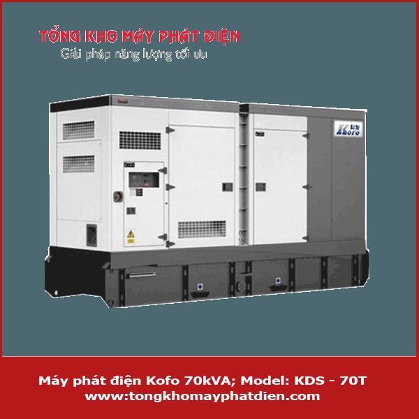 Máy phát điện Kofo 70kVA
