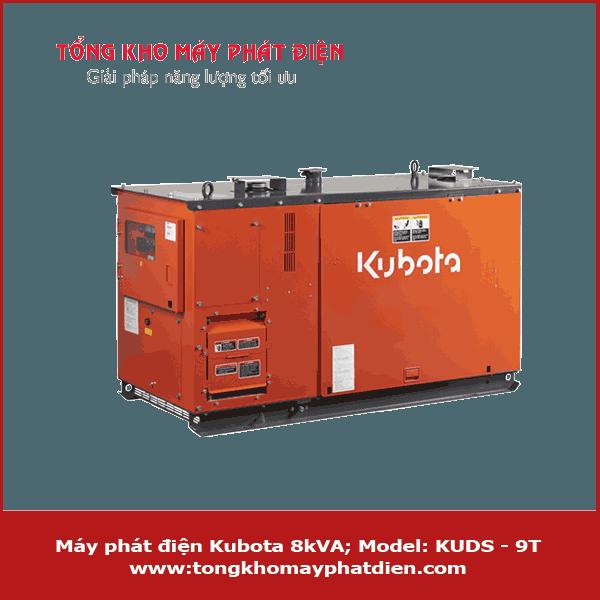 Máy phát điện Kubota 8kVA KUDS-9T