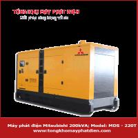 Máy phát điện Mitsubishi 200kVA MDS-220T