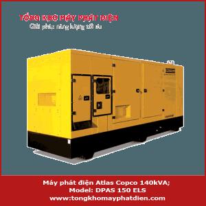 Máy phát điện Atlas Copco 140kVA