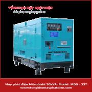máy phát điện mitsubishi 30KVA MDS-33T