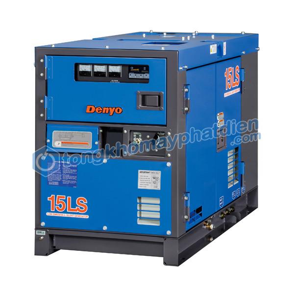 Máy Phát Điện Denyo 13 kVA 1 pha