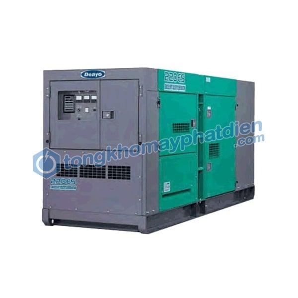 máy phát điện Denyo 200kVA DCA_220ESM