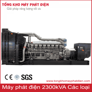 Máy phát điện 2300kVA