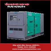 Máy phát điện Denyo 200kVA DCA-220ESM