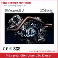 Tại sao nên chọn máy phát điện chạy dầu diesel