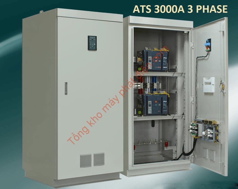 Tủ ATS 3000A Chuyển Nguồn Tự Động