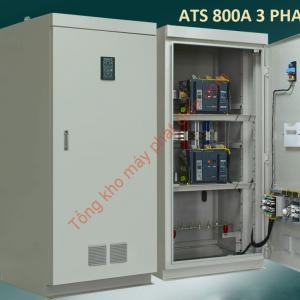 Tủ ATS 800A 3P chuyển nguồn tự động