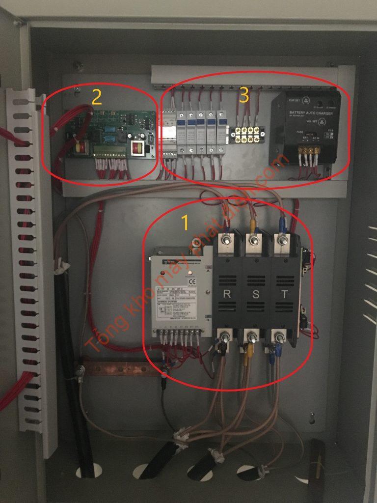 Tủ chuyển nguồn tự động ATS sử dụng máy cắt MCCB
