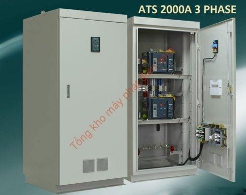Tủ ATS 2000A chuyển nguồn tự động