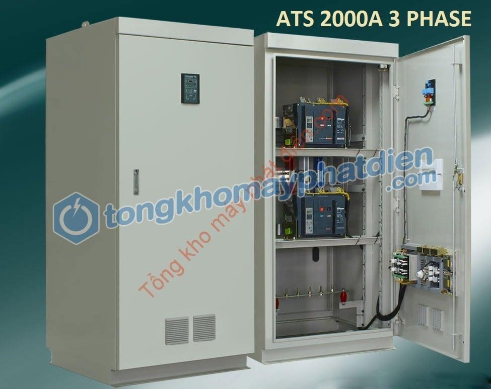 Tủ ATS 2500A Chuyển Nguồn Tự Động
