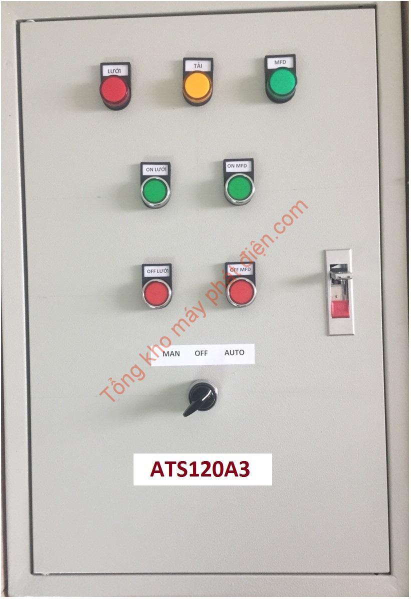 Vỏ tủ ATS 120A 3 pha