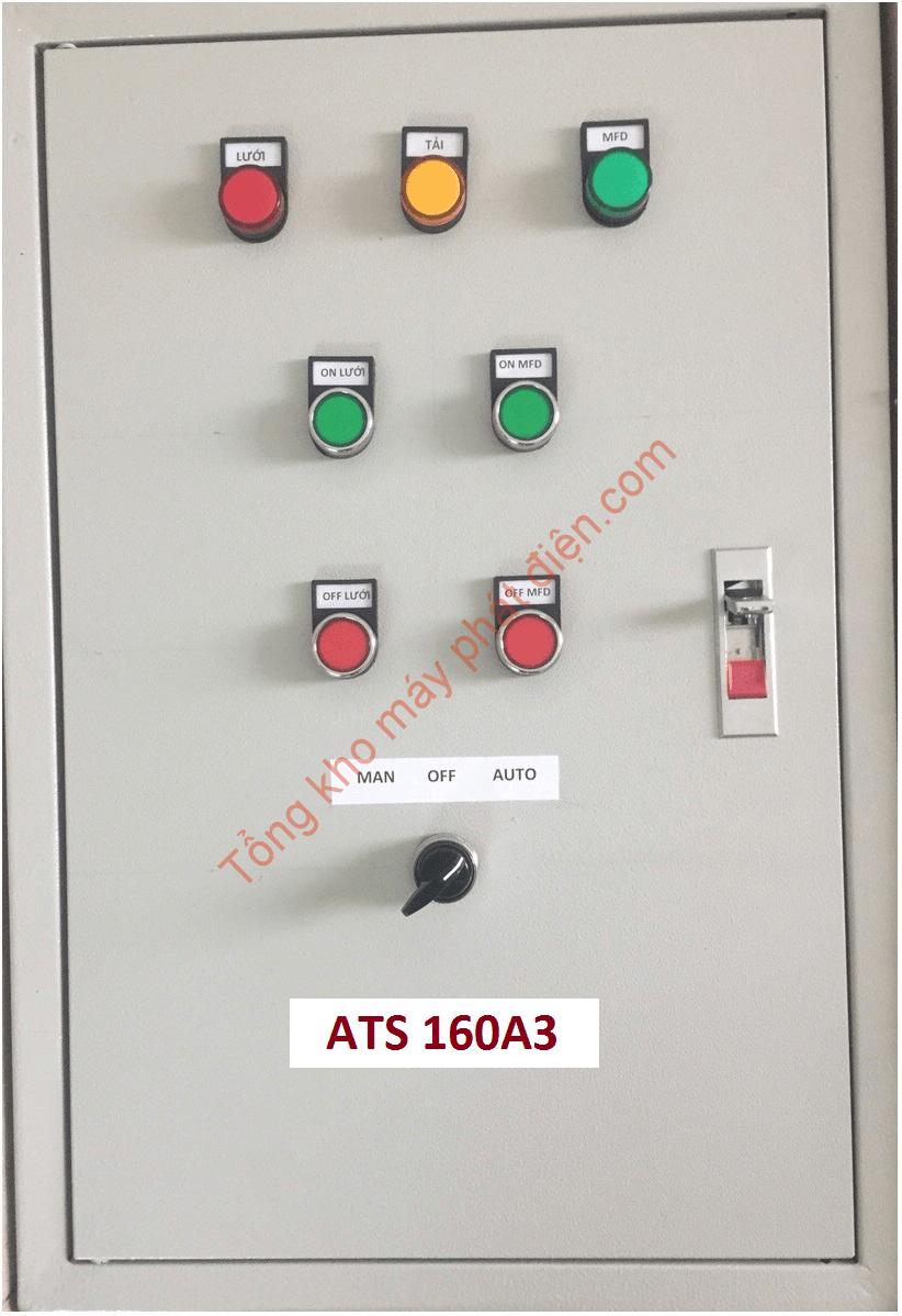 Vỏ tủ ATS 160A 3 pha