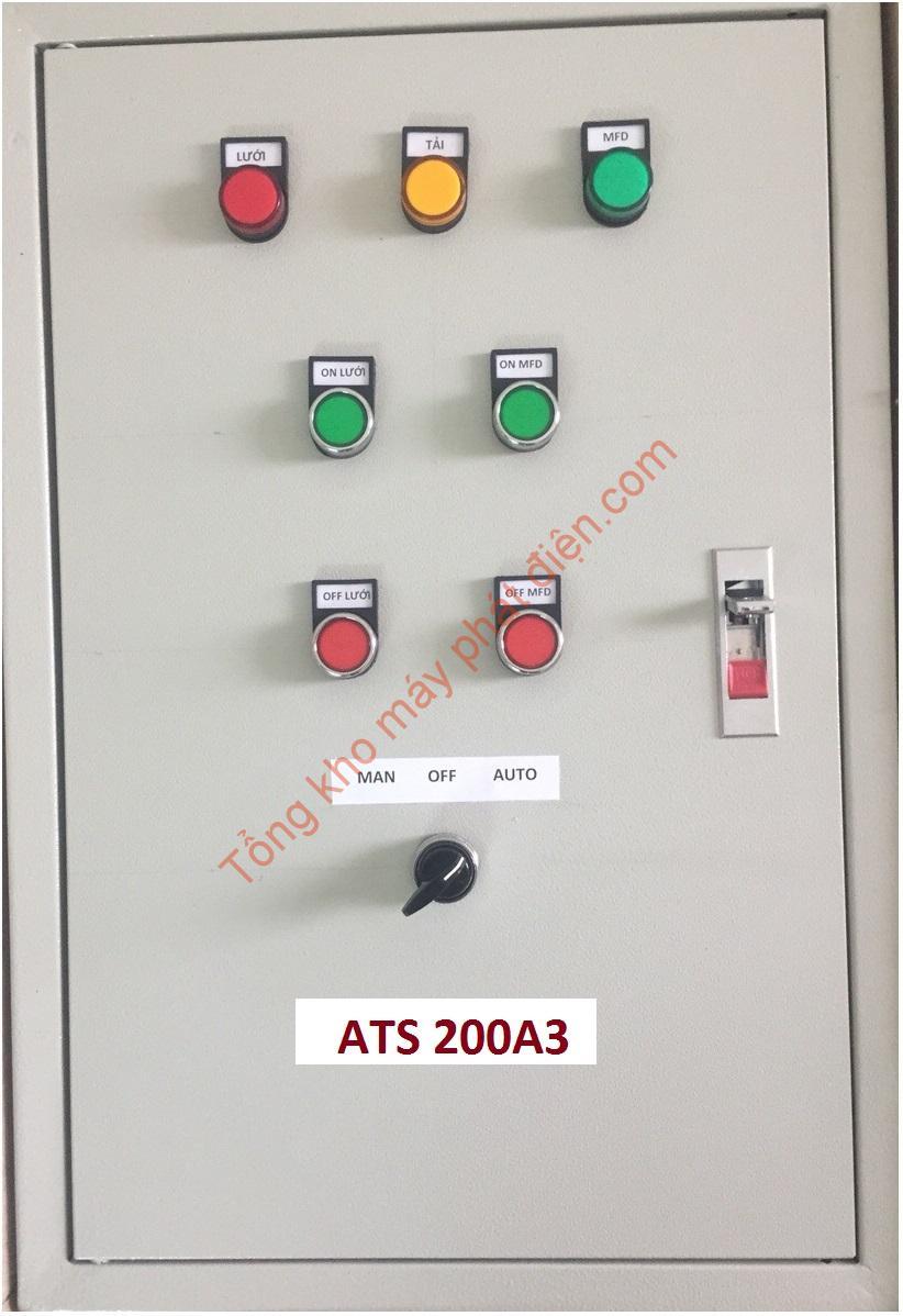 Vỏ tủ ATS 200A 3 pha