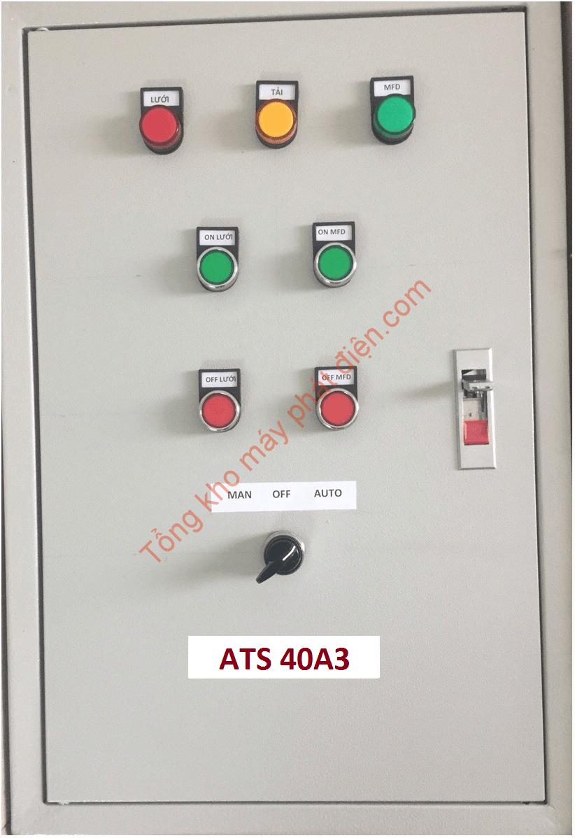 Vỏ tủ ATS 40A 3 pha