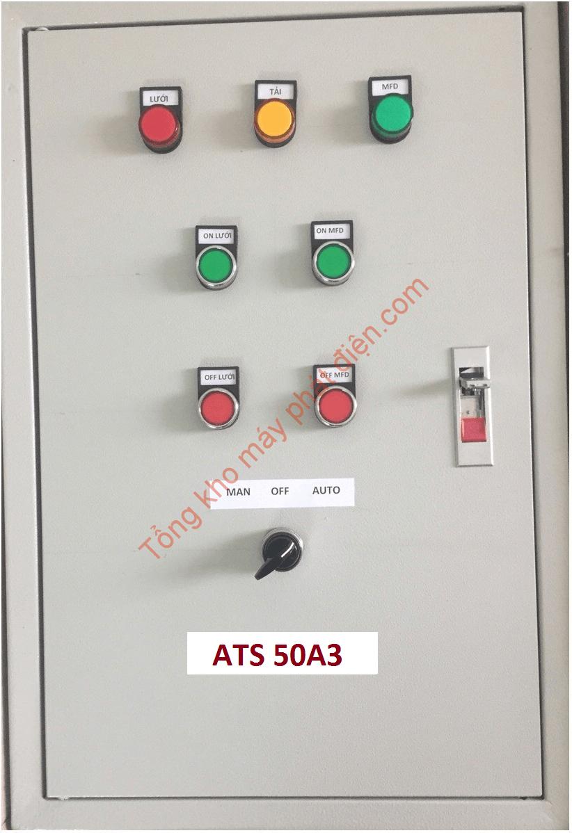 Vỏ tủ ATS 50A 3 pha