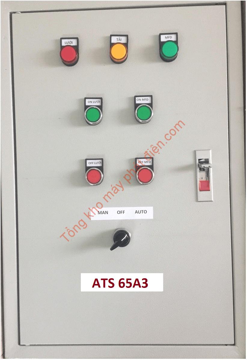 Vỏ tủ ATS 65A 3 pha