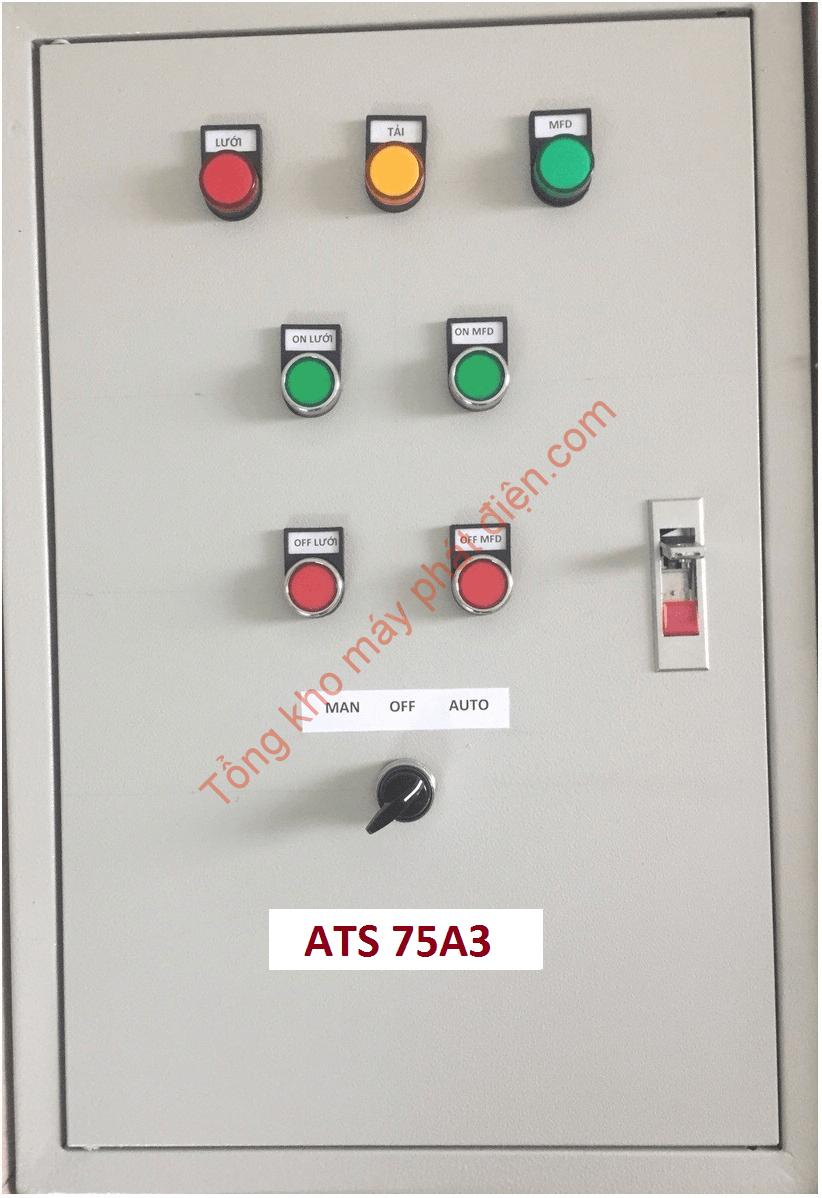 Vỏ tủ ATS 75A 3 pha