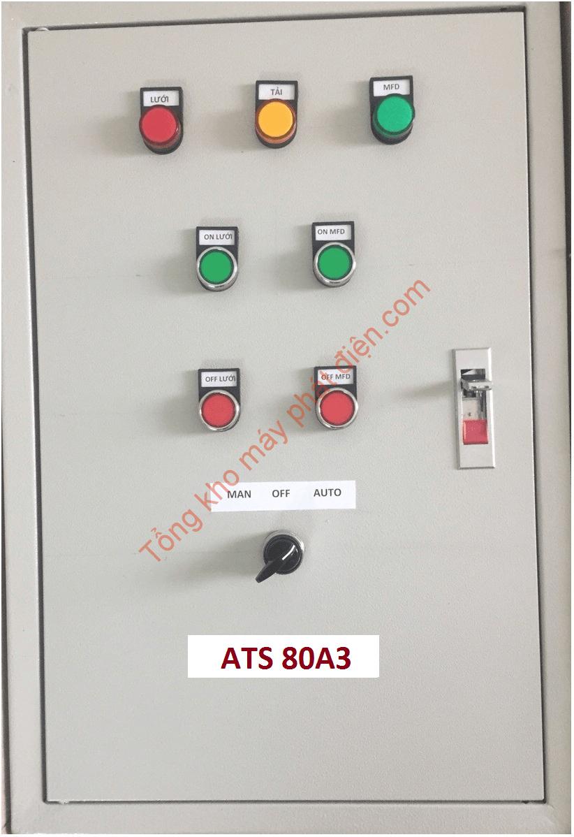 Vỏ tủ ATS 80A 3 pha