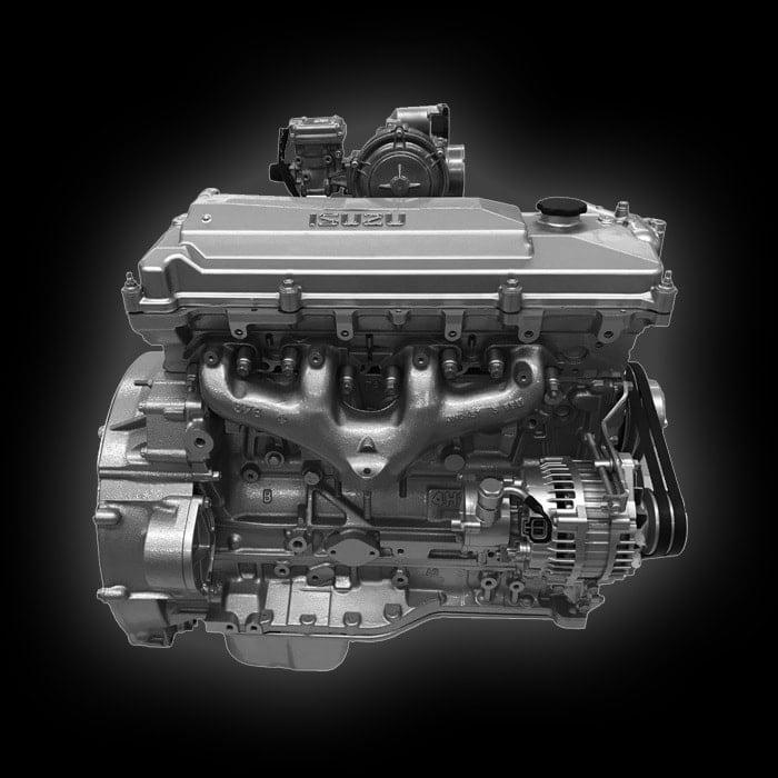 Động cơ diesel Isuzu Nhật Bản