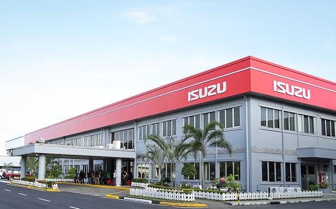 Một văn phòng làm việc của Isuzu