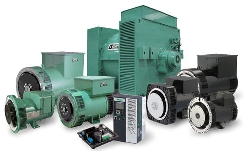 Đầu phát điện Leroy Somer sử dụng cho tổ máy của Atlas Copco