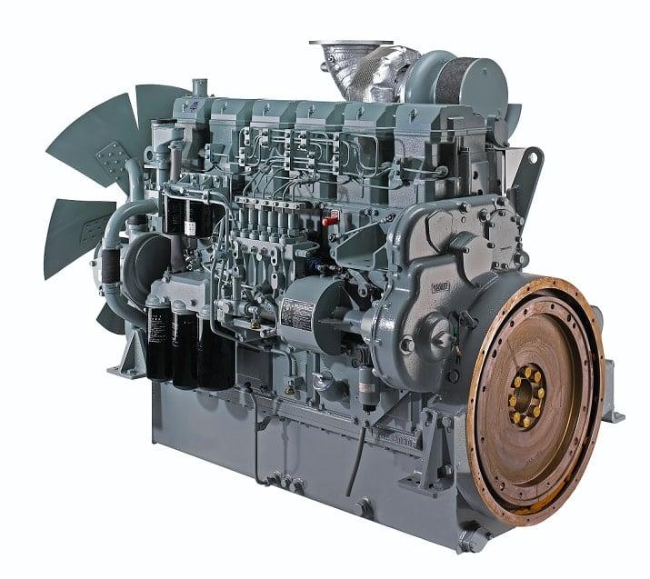 Động cơ diesel do Mitsubishi MHI Nhật Bản sản xuất