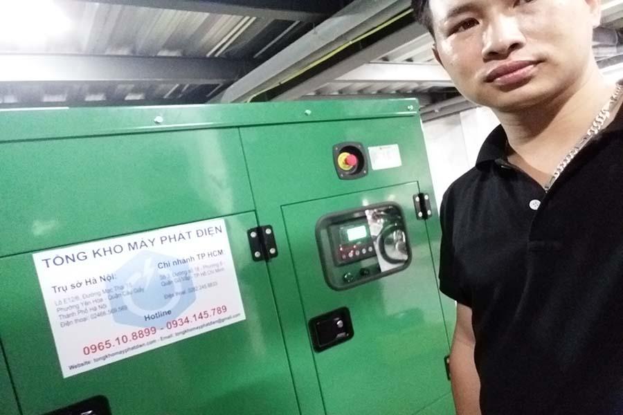 Máy phát điện Cummins 100kVA nhập khẩu chính hãng