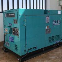 Máy phát điện 3 pha Denyo 20kVA do Tổng kho máy phát điện Benzen cung cấp